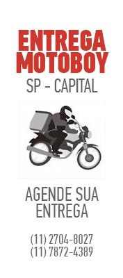 Entregamos por Motoboy em SP - Capital